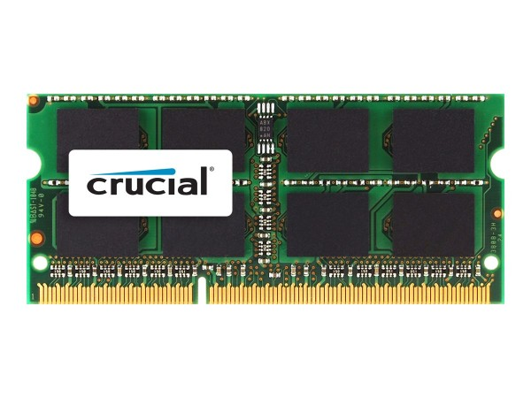 Crucial - DDR3 - 2 GB - SO DIMM 204-PIN - 1066 MHz / PC3-8500 - CL7